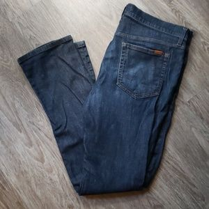 Joe's Jeans Tailored Fit Dark Blue Skinny 36×32